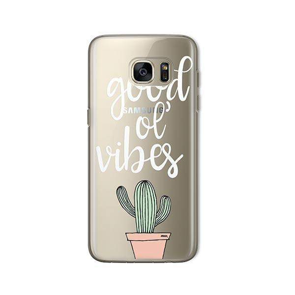 Good Ol Vibes - Samsung Galaxy S7 Case Clear
