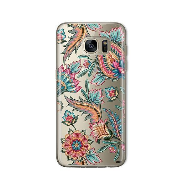 Lola Paisley - Samsung Galaxy S7 Case Clear