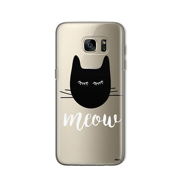 Meow -  Samsung Galaxy S7  Clear Case