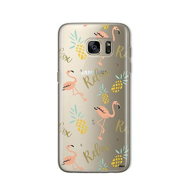 Rela8 - Samsung Clear Case