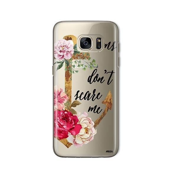 Storms Don't Scare Me - Samsung Galaxy S7 Case Clear