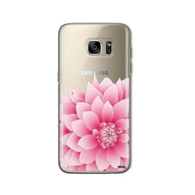The Dahlia - Samsung Clear Case