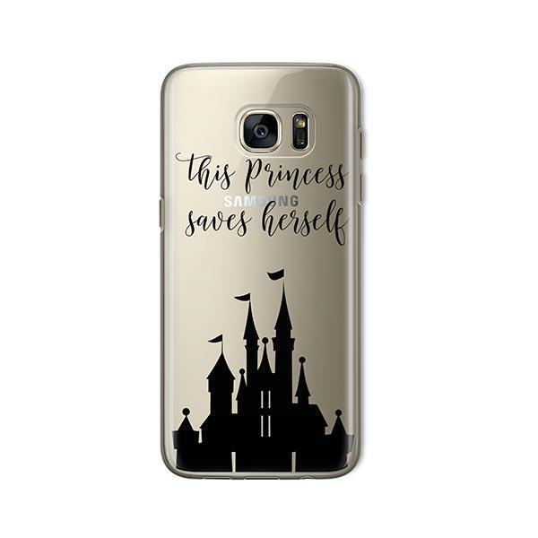 The Princess Saves Herself - Samsung Galaxy S7 Case Clear