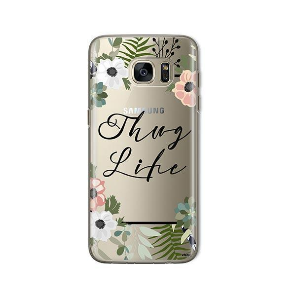 Thug Life - Samsung Galaxy S7 Case Clear