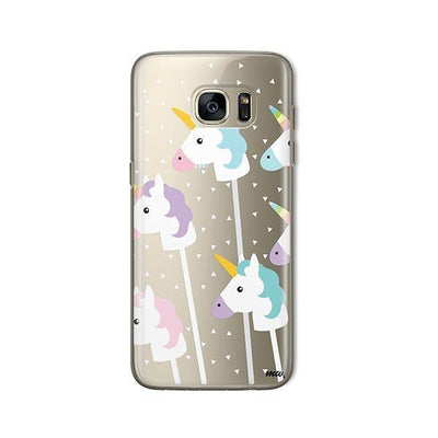 Unicorn Pops - Samsung Clear Case