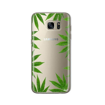 Weed Frame - Samsung Clear Case