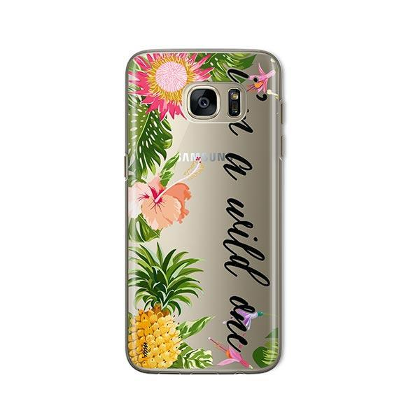 I'm a wild one - Samsung Galaxy S7 Case Clear