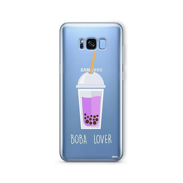 Boba Lover - Samsung Galaxy S8 Plus Case Clear
