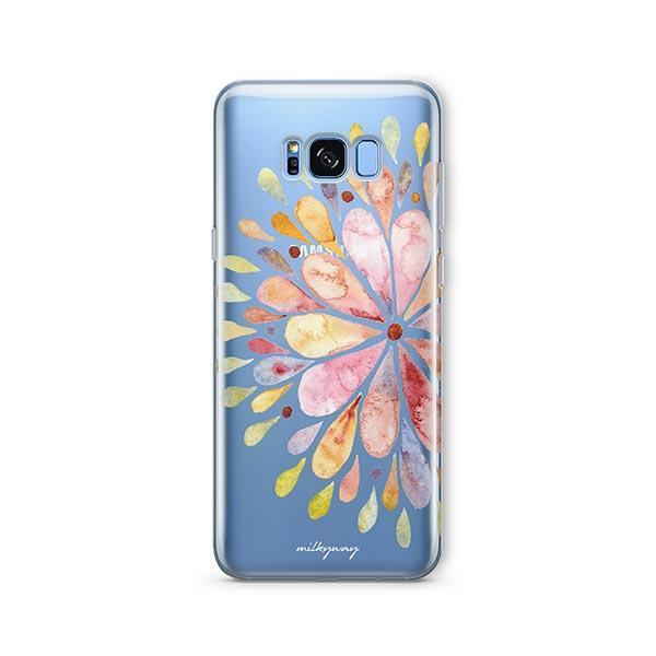 Blissful Mandala - Samsung Galaxy S7 Edge Case Clear