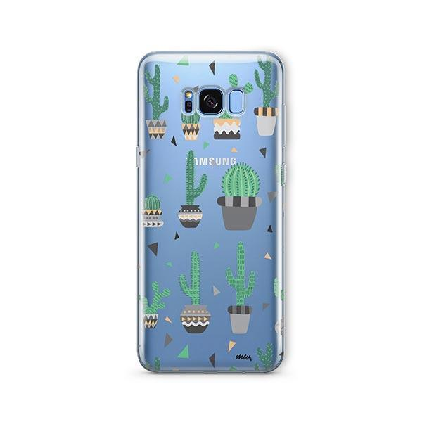 Cactus Party - Samsung Galaxy S7 Edge Case Clear