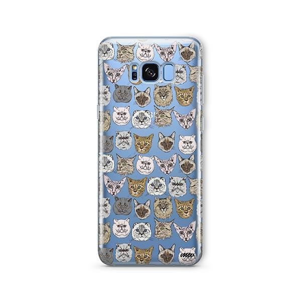 Cat Overload 2 -  Samsung Galaxy S8 Clear Case