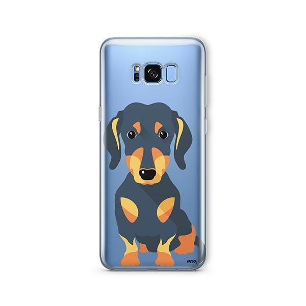 Doxie -  Samsung Galaxy S8 Plus Clear Case