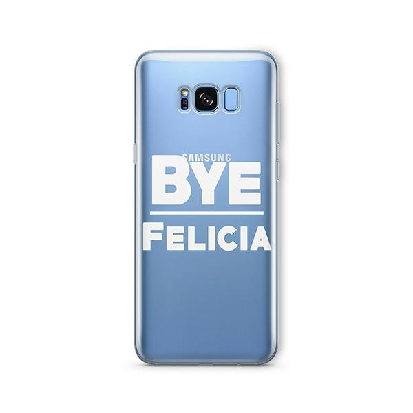 Bye Felicia - Samsung Galaxy S7 Edge Case Clear