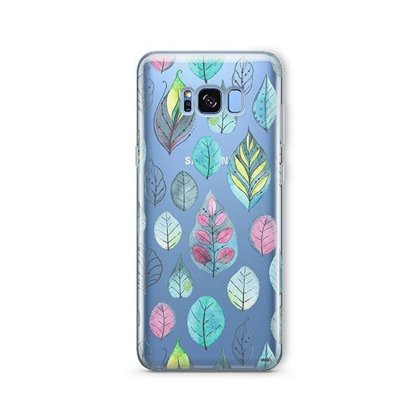Leaves - Samsung Galaxy S8 Case Clear
