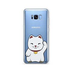 Lucky Cat -  Samsung Galaxy S7 Edge Clear Case