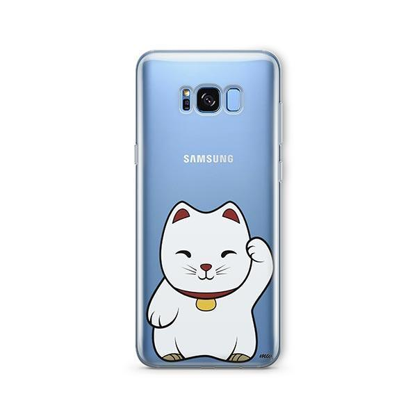 Lucky Cat -  Samsung Galaxy S8 Clear Case