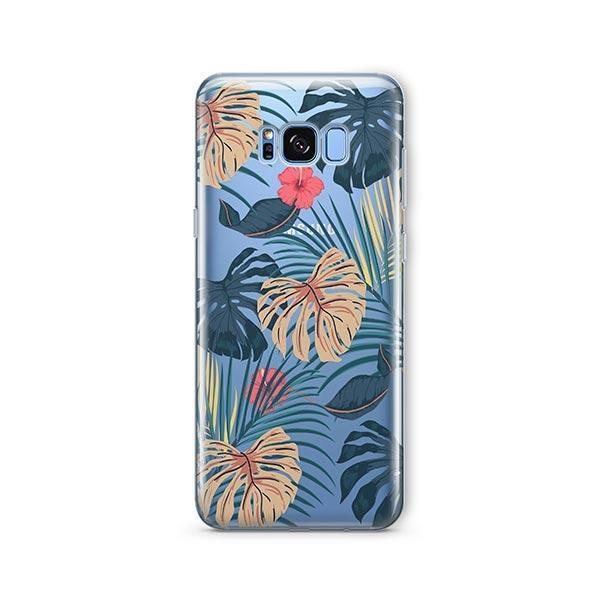 New Day Monstera - Samsung Galaxy S7 Edge Case Clear