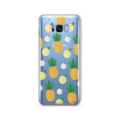 Pineapple Lemon Summer - Samsung Clear Case
