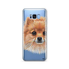 Pomsky Puppy -  Samsung Galaxy S7 Edge Clear Case