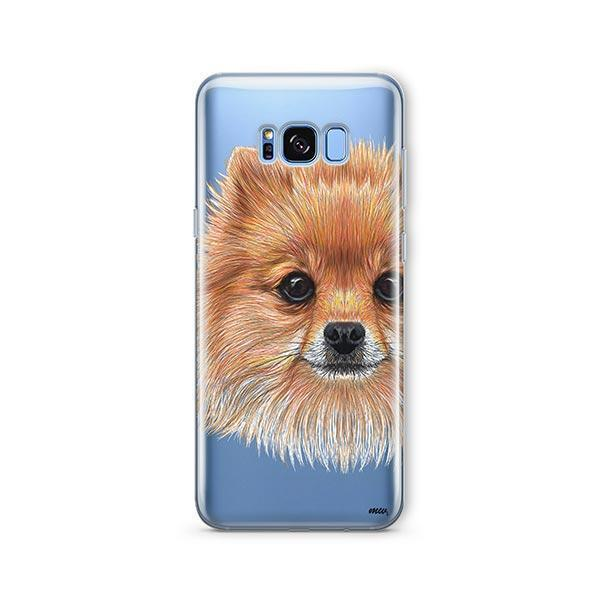 Pomsky Puppy -  Samsung Galaxy S8 Clear Case