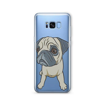 Full Pug - Samsung Clear Case