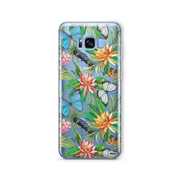 Tropical Butterfly - Samsung Galaxy S8 Case Clear