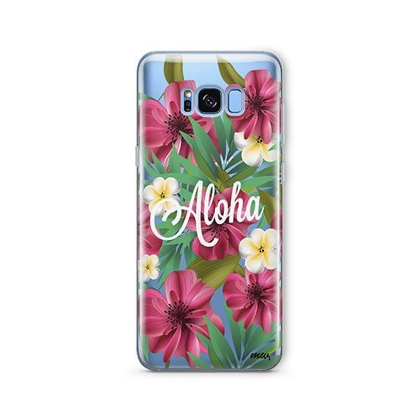 Aloha 2.0 - Samsung Galaxy S7 Edge Case Clear