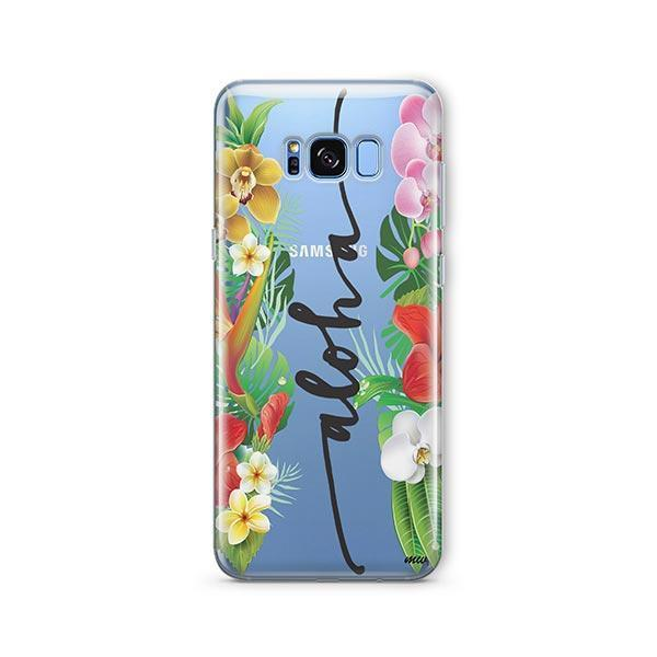 Aloha - Samsung Galaxy S7 Edge Case Clear