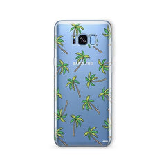 Aloha Trees - Samsung Galaxy S8 Plus Case Clear