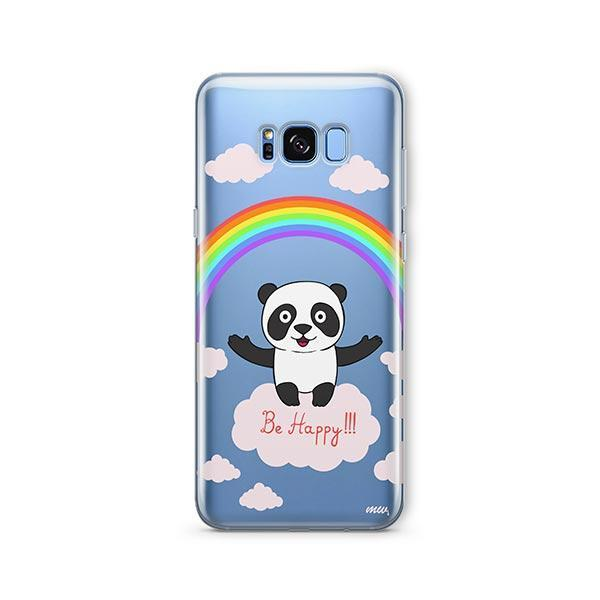 Be Happy - Samsung Galaxy S8 Plus Case Clear