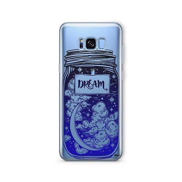 Blue Dream - Samsung Galaxy S7 Edge Case Clear