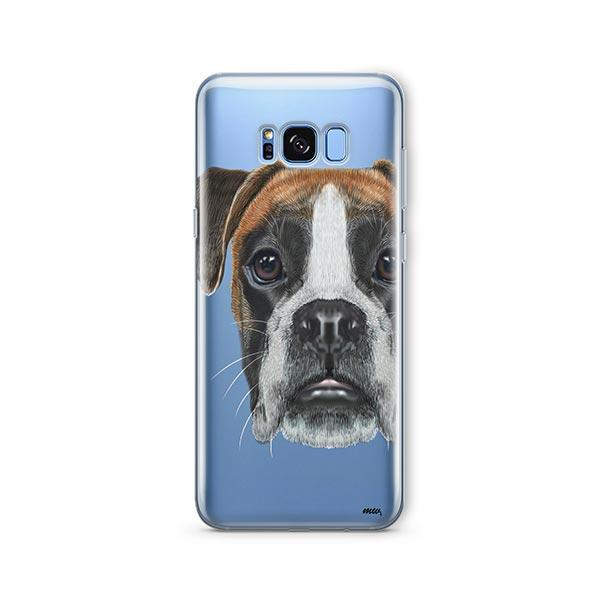 Boxer -  Samsung Galaxy S8 Clear Case