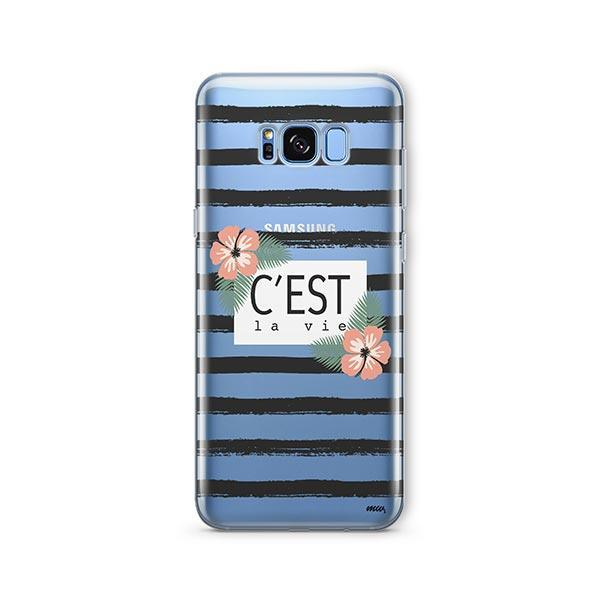 C'est La Vie - Samsung Galaxy S7 Edge Case Clear