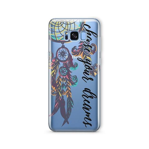 Chase Your Dreams - Samsung Galaxy S7 Edge Case Clear