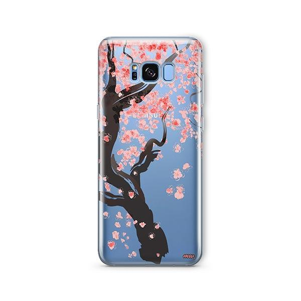 Cherry Blossom Tree - Samsung Galaxy S7 Edge Case Clear