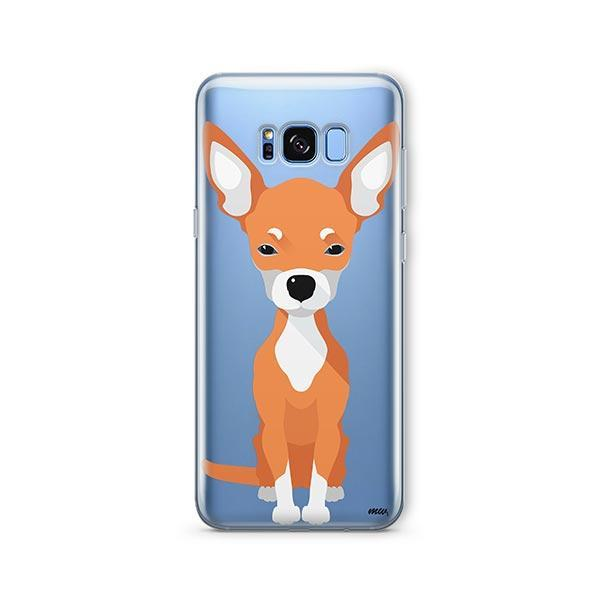 Chihuahua -  Samsung Galaxy S8 Plus Clear Case