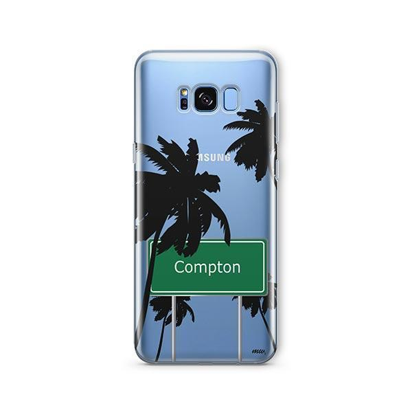 Compton - Samsung Galaxy S8 Plus Case Clear