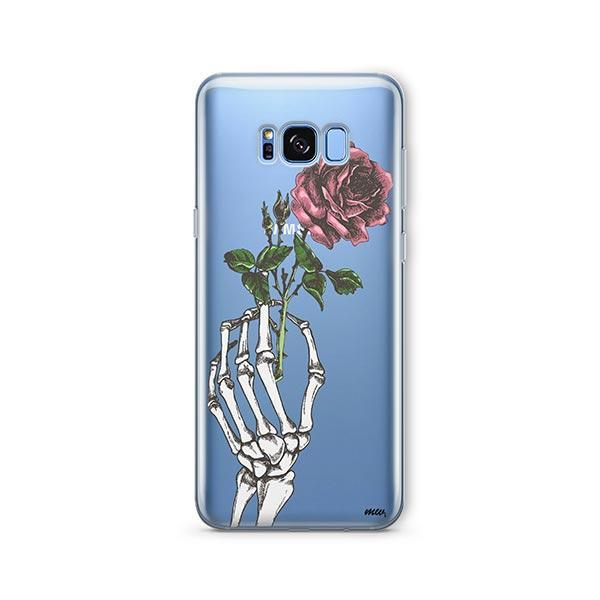 Crane Rose - Samsung Galaxy S8 Plus Case Clear