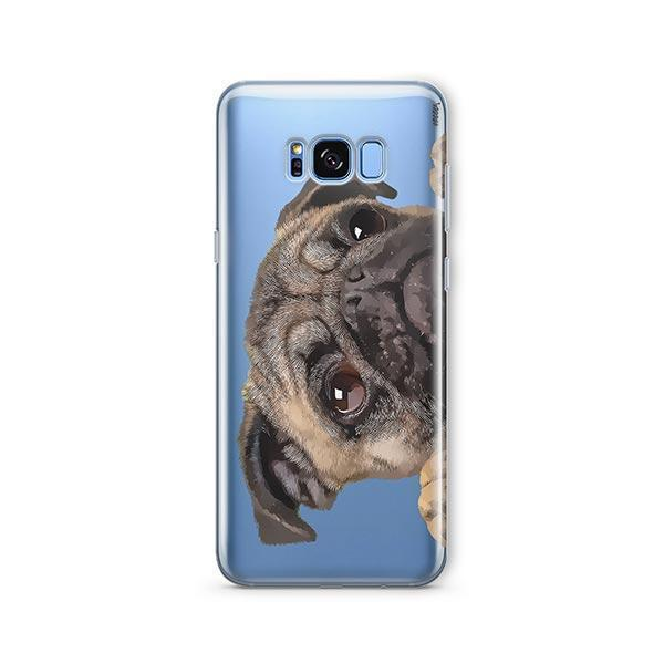Cry Baby Pug -  Samsung Galaxy S8 Plus Clear Case