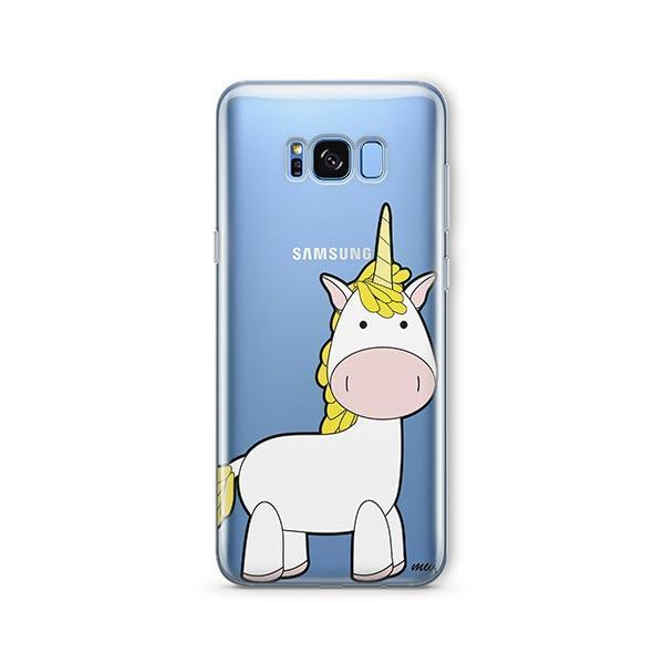 Cute Unicorn - Samsung Galaxy S7 Edge Case Clear