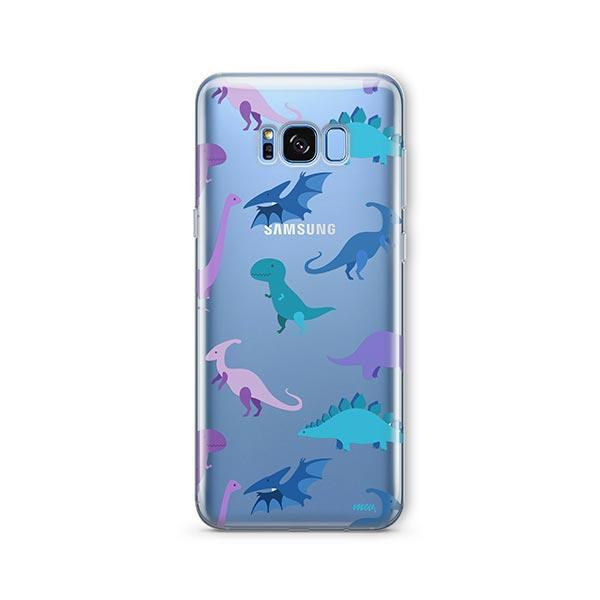 Dino Time - Samsung Galaxy S7 Edge Case Clear