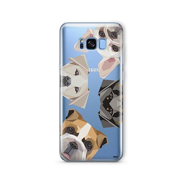 Dogs with Attitude -  Samsung Galaxy S8 Clear Case