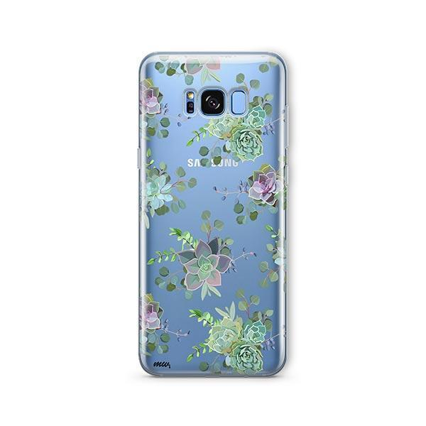 Echeveria - Samsung Galaxy S7 Edge Case Clear