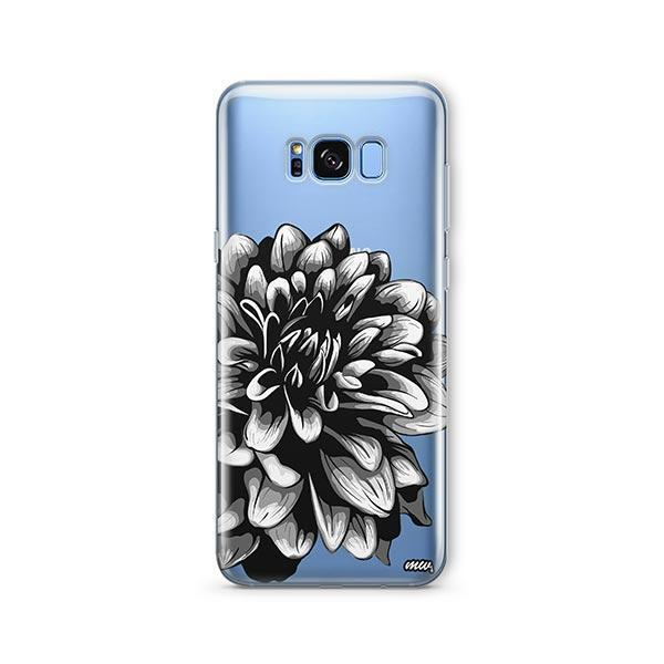 The Black Dahlia - Samsung Galaxy S7 Edge Case Clear