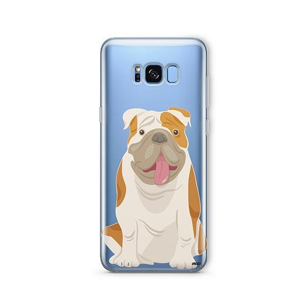 English Bulldog -  Samsung Galaxy S8 Plus Clear Case