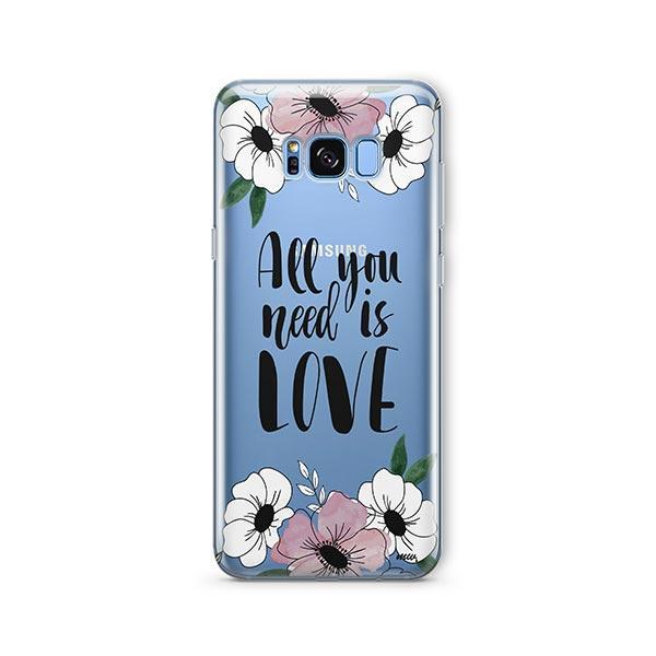 All You Need is Love - Samsung Galaxy S7 Edge Case Clear
