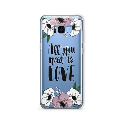 All You Need is Love - Samsung Clear Case