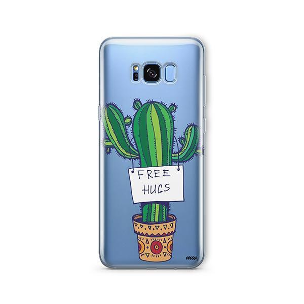 Free Hugs - Samsung Galaxy S7 Edge Case Clear