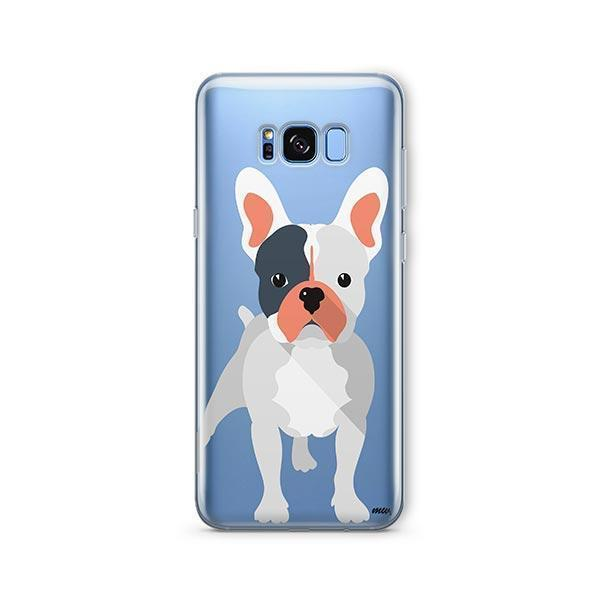 French Bulldog -  Samsung Galaxy S8 Clear Case