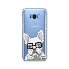 The Frenchie -  Samsung Galaxy S7 Edge Clear Case